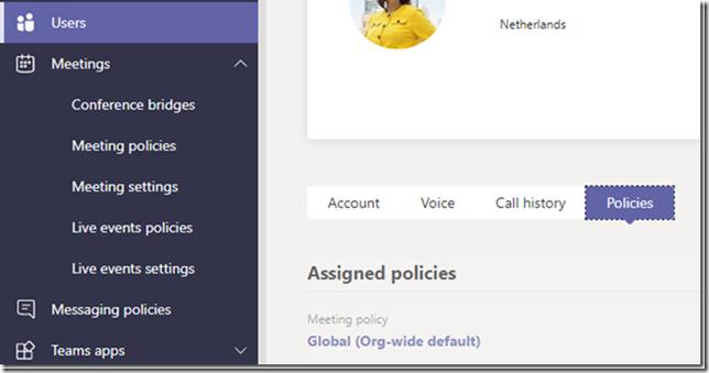 Bildschirmfreigabe für Externe in Team Meetings